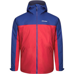 Berghaus Deluge Pro 2.0 Insulated Jacket Men haute red/sodalite blue